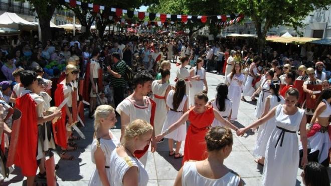 Beja revive durante três dias a época Romana