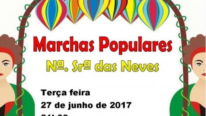 Marchas Populares hoje em Nossa Senhora das Neves