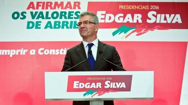 Edgar Silva está hoje em Beja