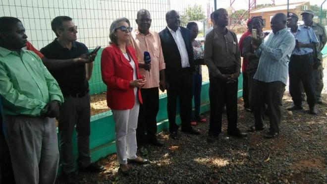 Inaugurado depósito de abastecimento de água em Monapo