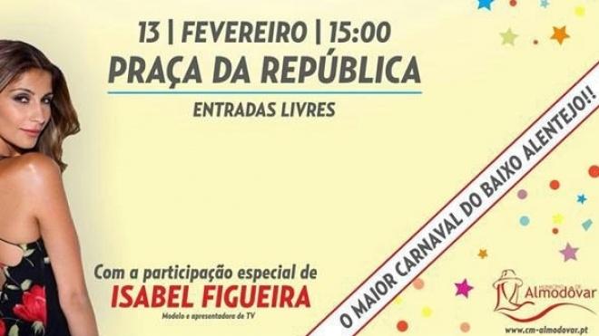 Isabel Figueira é a rainha do Carnaval de Almodôvar