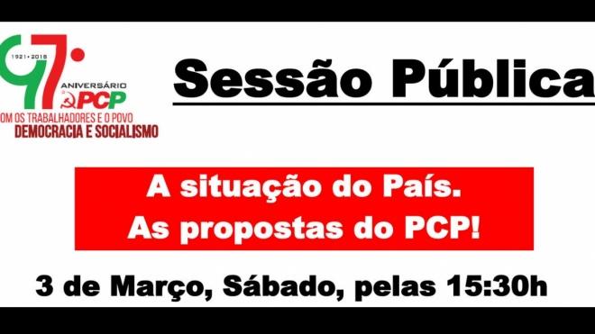 PCP comemora 97º aniversário no concelho de Beja
