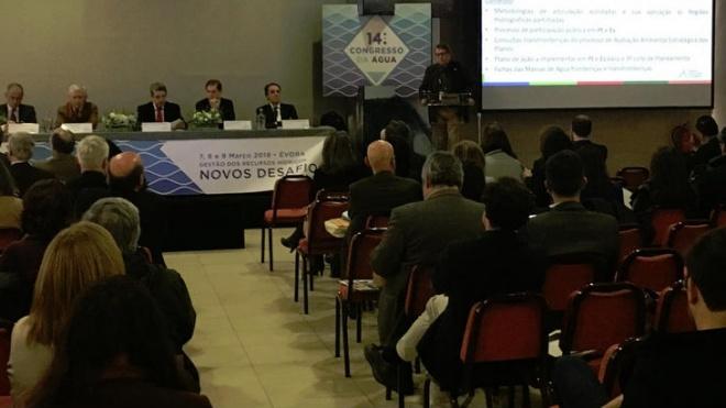 EMAS presente no 14º Congresso da Água