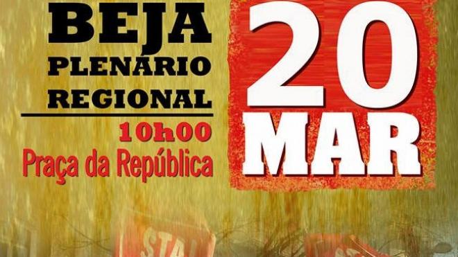 STAL realiza plenário regional na Praça da República
