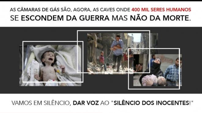 Marcha por Ghouta em Lisboa