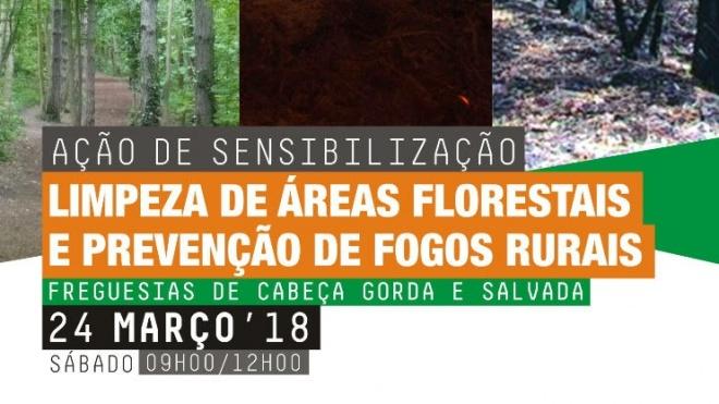 RI1 de Beja sensibiliza para a limpeza de áreas florestais