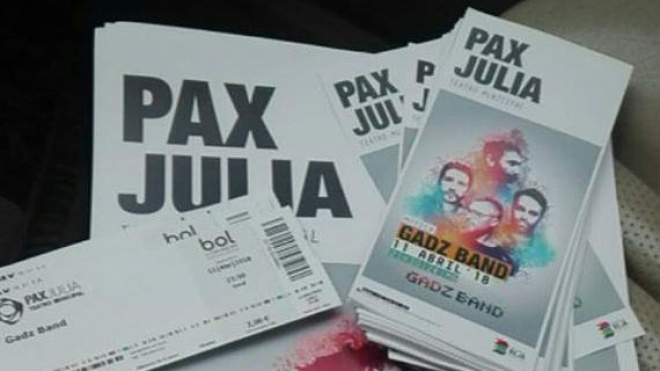 Gadz Band para ouvir hoje na Cafetaria do Pax Julia