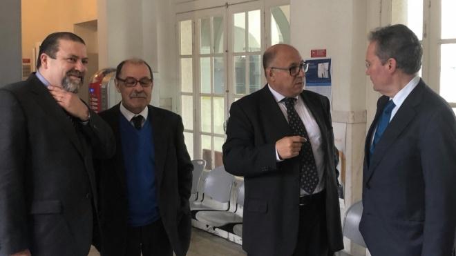 Presidente do Supremo Tribunal de Justiça em Beja