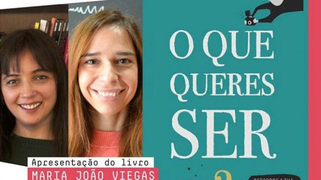 """Conversas com B de Beja apresentam livro """"O que queres ser?"""""""