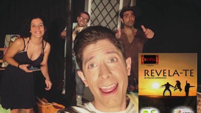 """Companhia de Teatro """"Contrapalco"""" apresenta """"Revela-te"""""""