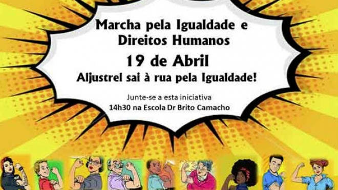 Marcha pela Igualdade em Aljustrel