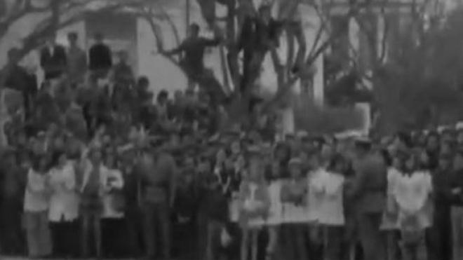 Alunos da Bento Jesus Caraça recriam manifestação realizada em Beja