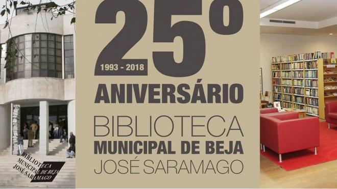 """Biblioteca de Beja assinala """"bodas de prata"""""""
