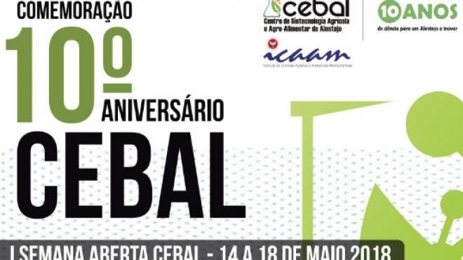 CEBAL assinala 10º aniversário com I Semana Aberta