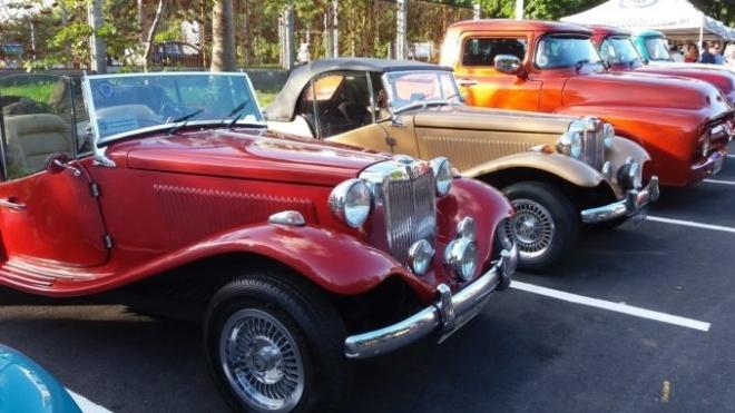 Beja recebe concentração de automóveis antigos