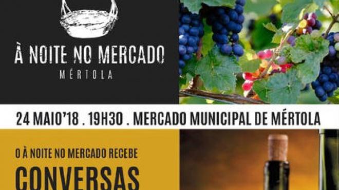 """Mértola promove """"Conversas com vinho"""""""