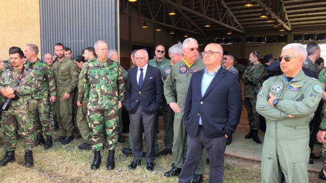 Ministro da Defesa em Beja