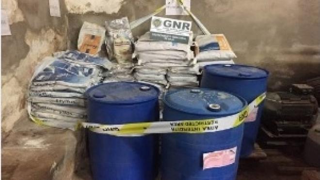 GNR de Beja apreende produtos fitofarmacêuticos proibidos