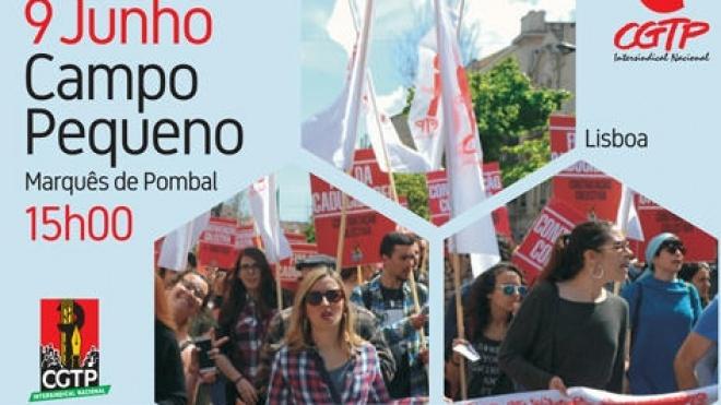 Sábado é dia de manifestação Nacional da CGTP-IN