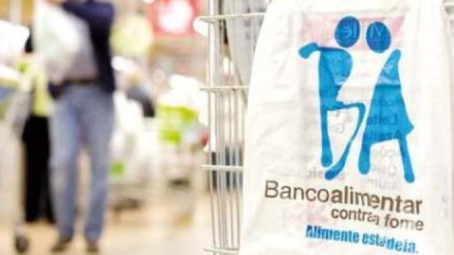 Campanha do Banco Alimentar Contra a Fome durante o fim-de-semana
