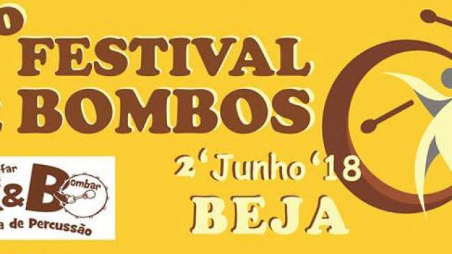 Beja recebe hoje o 2º Festival de Bombos