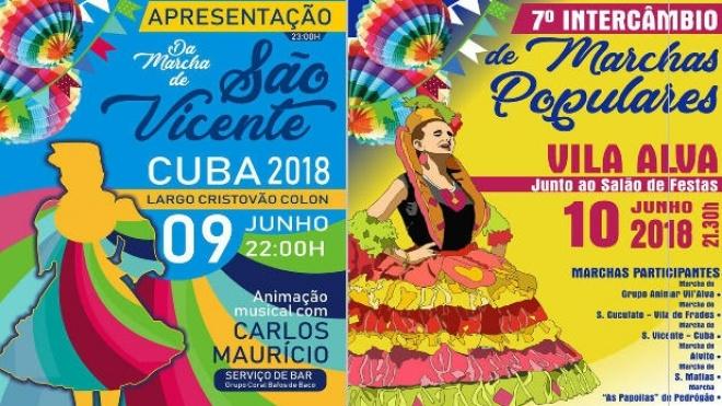 Marchas Populares arrancam este fim-de-semana no Concelho de Cuba