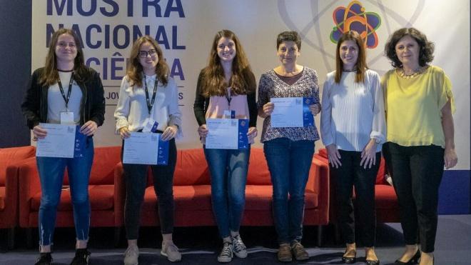 Alunas de Odemira premiadas em concurso para jovens cientistas