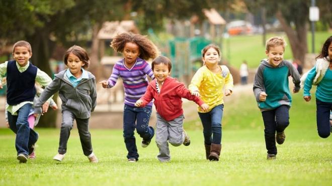 Encontro Desportivo do Pré-Escolar no Jardim Público