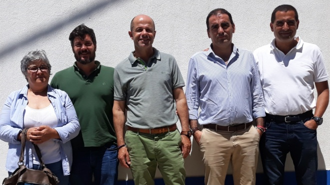 Coordenador Distrital da ANAFRE reúne-se com presidentes de junta do litoral