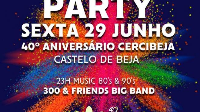 Festa dos 40 anos da Cercibeja no Castelo de Beja