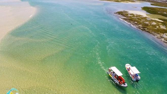 Ria Formosa recebe idosos de Mértola