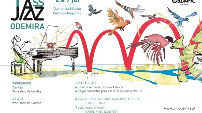 15º Festival TassJazz promove workshops