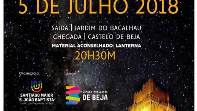 """Caminhada noturna """"Um Céu cheio de Estrelas!"""" em Beja"""