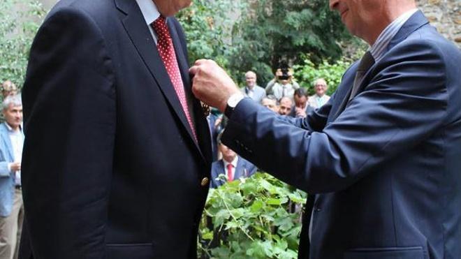 """Luís Peres de Sousa é """"Oficial de Mérito Agrícola"""""""