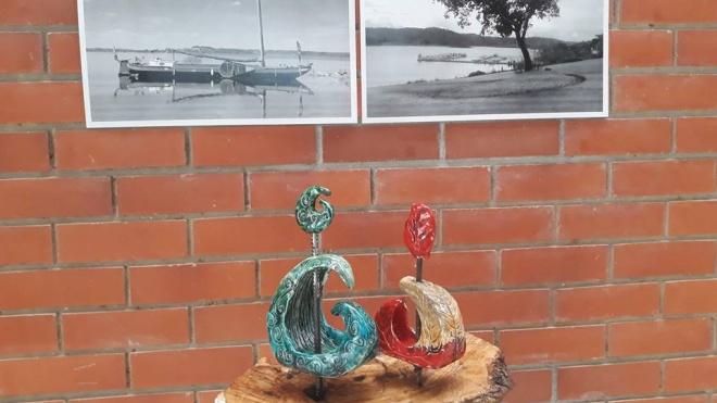 Alunos de Artes da Escola Diogo de Gouveia apresentam exposição na EDIA