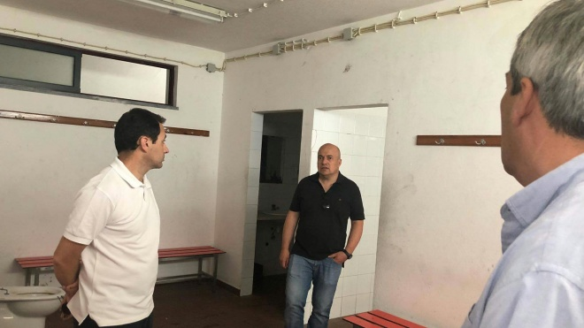 Câmara de Beja requalifica balneários do Complexo Desportivo