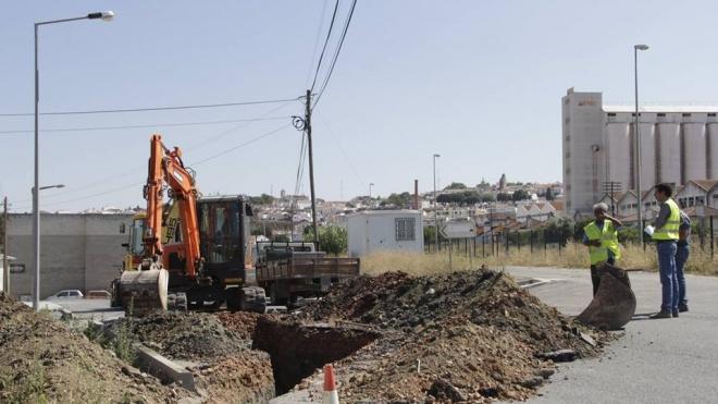 EMAS avança com melhoria na rede de águas pluviais do Parque Industrial