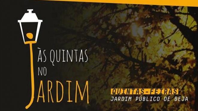 """""""Às Quintas no Jardim"""" com o grupo Trigo Limpo"""