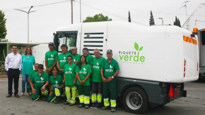 Castro Verde reforça higiene urbana da vila