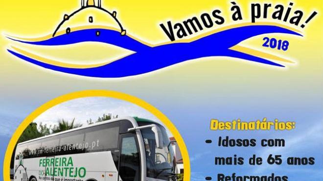 """""""Vamos à Praia"""" com última viagem na 6ª feira"""