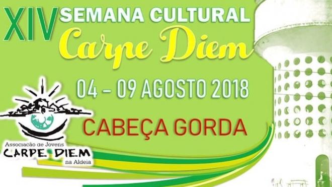 XIV Semana Cultural Carpe Diem em Cabeça Gorda
