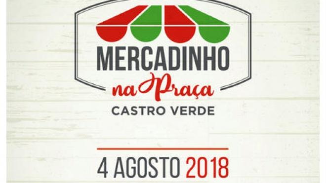 """""""Mercadinho"""" na Praça da República em Castro Verde"""