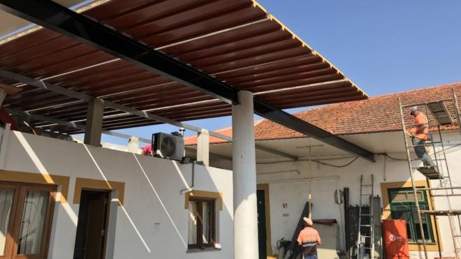 Obras nas Oficinas Municipais de Castro Verde quase concluídas