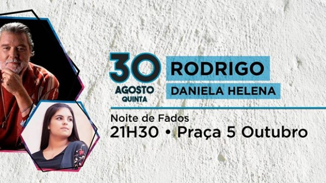 Noite de fados com Rodrigo e Daniela Helena na Salvada