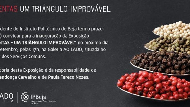 """""""Pimentas – Um Triângulo Improvável"""" para apreciar no IPBeja"""