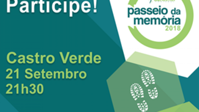 """Castro Verde recebe o """"Passeio da Memória"""""""