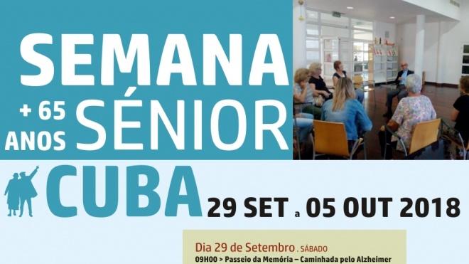 Cuba continua a ser animada pela Semana Sénior 2018