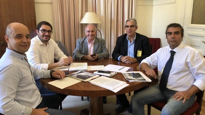 Plataforma Alentejo reuniu-se com BE, CDS-PP e PCP