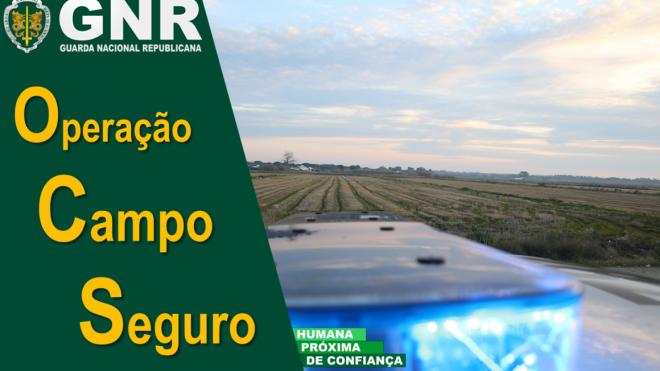 """GNR: Operação """"Campo Seguro"""""""