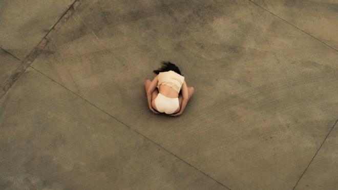 A bailarina espanhola Raquel  Klein atua hoje no Musibéria em Serpa